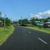 Straße Auf Samoa