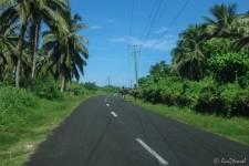 Straße auf Samoa (Talofa Samoa!)