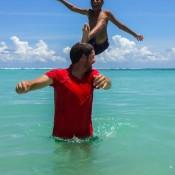 Spaß Im Meer Mit Frankie