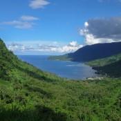 Blick Auf Die Fagaloa Bay