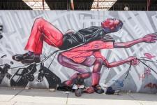 Graffiti-Tour durch Bogotá (Bogotá, die Hauptstadt Kolumbiens)