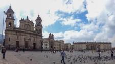 Plaza de Bolivar (Bogotá, die Hauptstadt Kolumbiens)