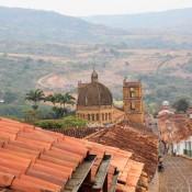 Blick über Die Dächer Von Barichara