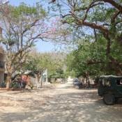 Schotterpiste In Taganga