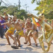 Parade Barranquilla Karneval