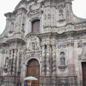 Die Wohl Schönste Kirche Der Stadt – La Compañía De Jesús De Quito