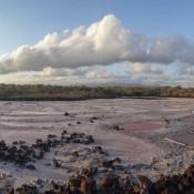 Salzfelder Auf Dem Weg Zu Las Grietas