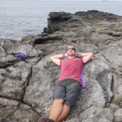Relaxen Auf Der Lava