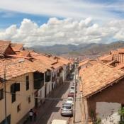 Blick über Die Dächer Von Cusco