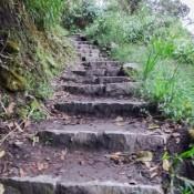 Aufstieg Zum Machu Picchu