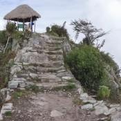 Gipfel Vom Montaña Machu Picchu