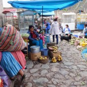 Auf Dem Markt In Ollantaytambo
