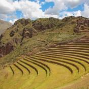 Inka Terrassen Bei Pisac