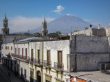 View of the Misti volcano