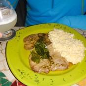 Alpaka Steak Mit Quinoa Und Das Nationalgetränk Pisco Sour