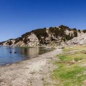 Ankunft Auf Der Isla Del Sol In Cha'llapampa