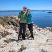 Blick Auf Den Titikaka See