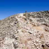 Steiniger Und Steiler Weg Zum Cerro Uma Qolla