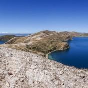 Blick über Isla Del Sol Vom Cerro Uma Qolla