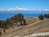 View Of The Snow Capped Mountains Of The Andes