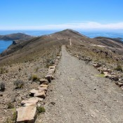 Wanderweg Entlang Der Insel