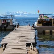 Abfahrt Von Der Isla Del Sol