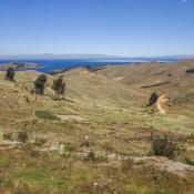Entlang Des Titikaka Sees Nach La Paz