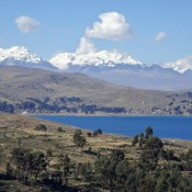 Unser Letzter Blick Auf Den Titikaka See