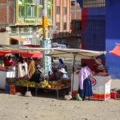 Fahrt Durch El Alto