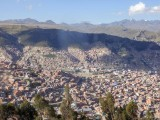 The first view of La Paz