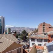 Blick Aus Unserem Zimmer In La Paz