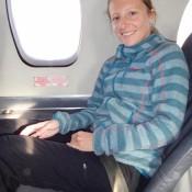 Im Kleinsten Flugzeug Unserer Bisherigen Reise
