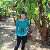 Auf Der Bananen Plantage