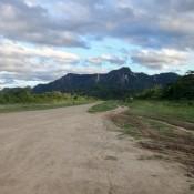 Die Landebahn Im Regenwald