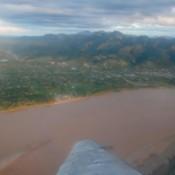 Letzter Blick Auf Rurrenabaqe Und Den Amazonas Regenwald