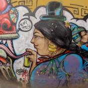 Schönes Graffiti