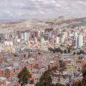Ausblick über La Paz Vom Aussichtspunkt Killi Killi