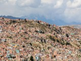 La Paz From the Killi Killi viewpoint