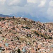 La Paz Vom Aussichtspunkt Killi Killi