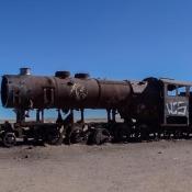 Eisenbahnfriedhof In Der Nähe Von Uyuni