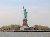 The famous statue of liberty