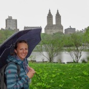 Regenwetter Im Central Park