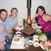 Koreanisches Abendessen Mit Linda
